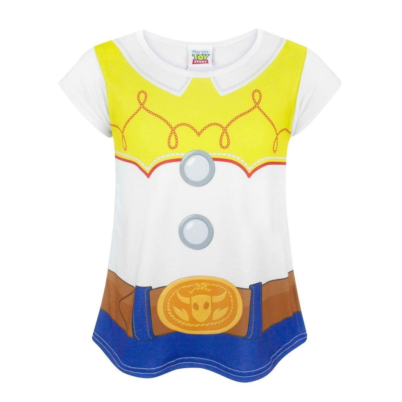 0763f5f12e96 Amazon.com  Disney Toy Story Jessie Costume Girl s T-Shirt  Clothing