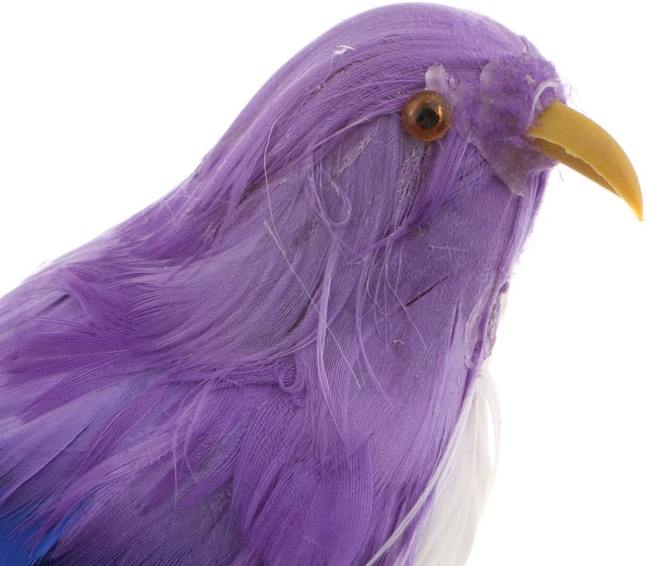 Fliegende Vogel Figur Dekofigur Dekovogel Federvogel f/ür Garten Zaun # 5