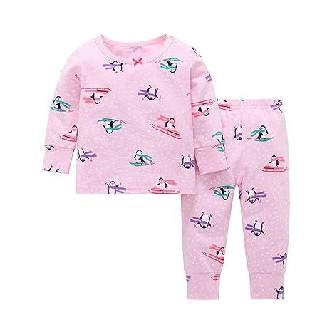 Mealeaf - Pijama de Manga Larga para bebé (3 m a 24 m ...
