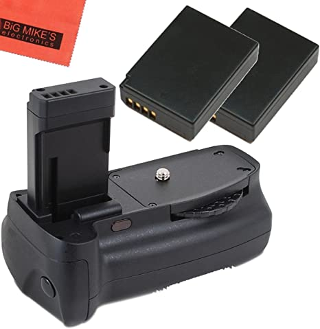Kit de empuñadura de batería para Canon EOS Rebel T3, T5, T6, Kiss ...