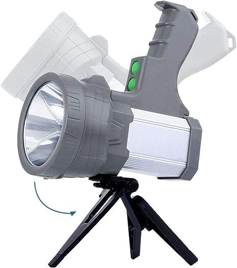 AF-WAN Lampe torche LED Rechargeable Portable ultra lumineuse 9000 mAh 5000 lumens super lumineux poche /étanche projecteur de poche LED projecteur