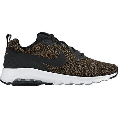 brand new 9340c 86961 ... Nike Men Air Max Motion Low Print Olive Flak, Black, White, Bright  Mango ...