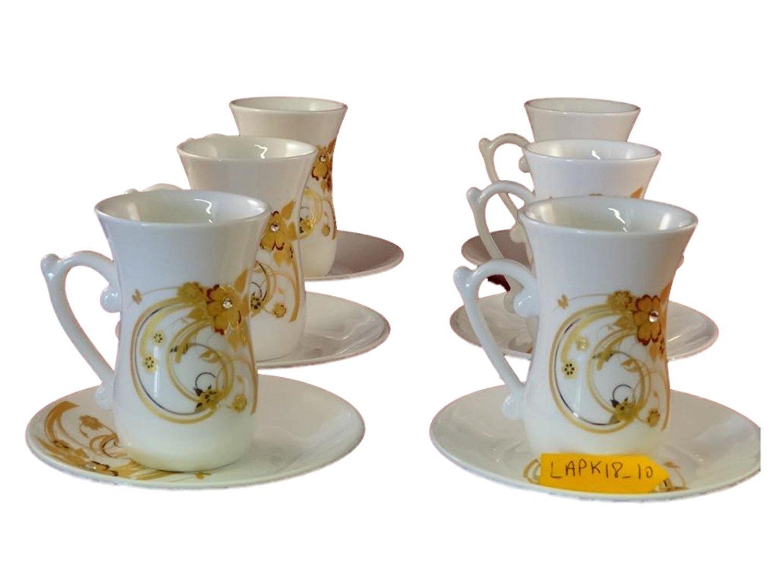 Amazoncom Istikana Turkish Middle Eastern Tea Cups Set Of 6