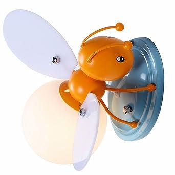 IACON Kinder Wandleuchter E27 Bienen kreative Karikatur ...