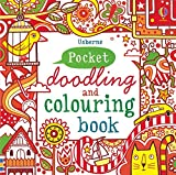img - for Little Doodling and Colouring Book: Red Book (Usborne Drawing, Doodling and Colouring) book / textbook / text book