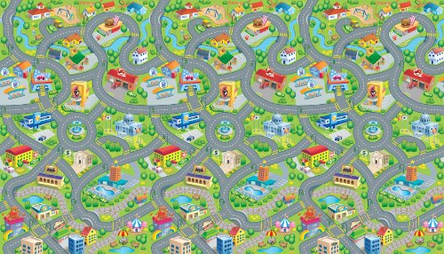 PlaSmart EVA PLA Smart Mat Happyville Vehicle