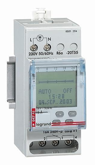 Legrand LEG92756 - Dial días de programación léxico reloj digital/semanal