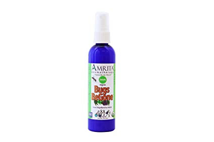 Amazon Com Amrita Aromatherapy Bugs Begone Insect Repellent