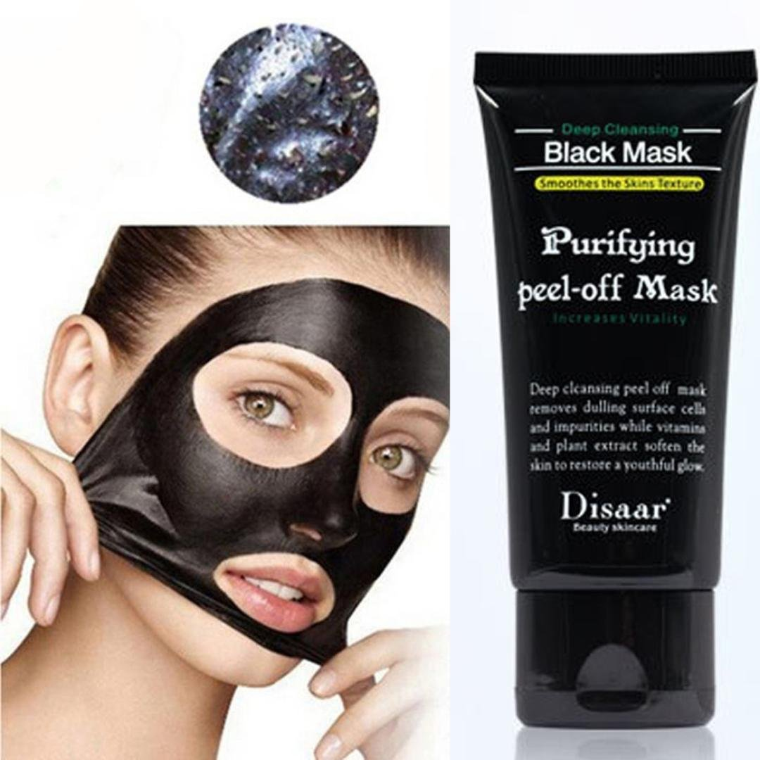 IGEMY Black Mud Deep Cleansing Purifying Peel Off Facail Face Mask Remove Blackhead Facial Mask (Black)