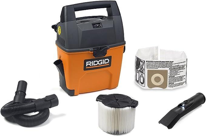 Rigid Wet Dry Vacuum Small Portable Shop Vac Cleaner Hose Lightweight 3Gal NEW