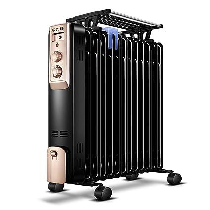 Calentador YNN Oil Ting Aceite Lleno de radiador Inicio 13 Piezas de Calor eléctrico a la