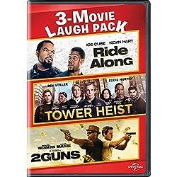 Ride Along / Tower Heist / 2 Guns 3-Movie Laugh Pack