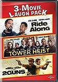 DVD : Ride Along / Tower Heist / 2 Guns 3-Movie Laugh Pack