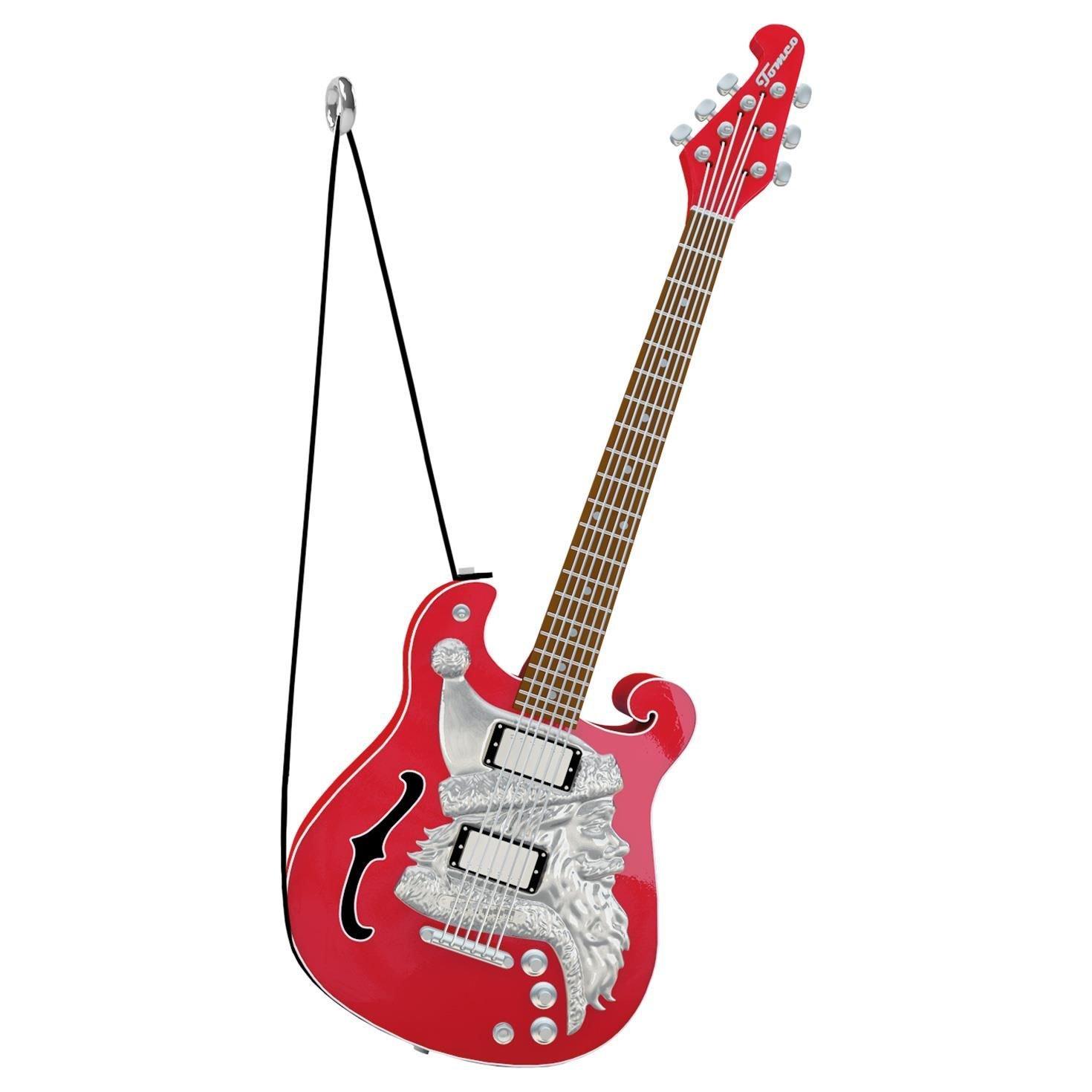 Hallmark Keepsake 2017 Santa Claus Is Comin' to Town Guitar Musical Christmas Ornament