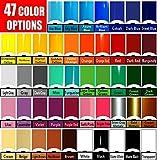 Vinyl Rolls (Oracal 651) Choose your colors 47 options (Cricut, Silhouette Cameo, Crafting Vinyl) (24 Rolls)
