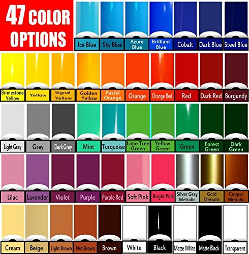 Vinyl Rolls (Oracal 651) Choose your colors 47 options (Cricut, Silhouette Cameo, Crafting Vinyl) (24 Rolls) by Oracal