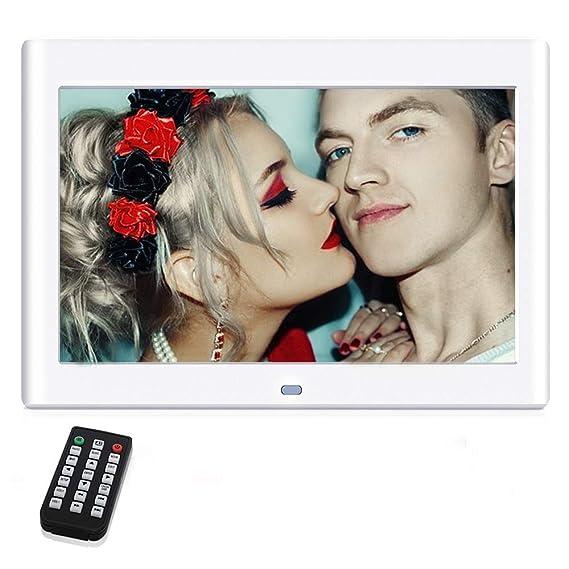 10 Pulgadas Marcos Digitales, NeKan 1024 × 600 de Alta resolución / 1080P HD portaretratos Digitales con Control Remoto: Amazon.es: Electrónica