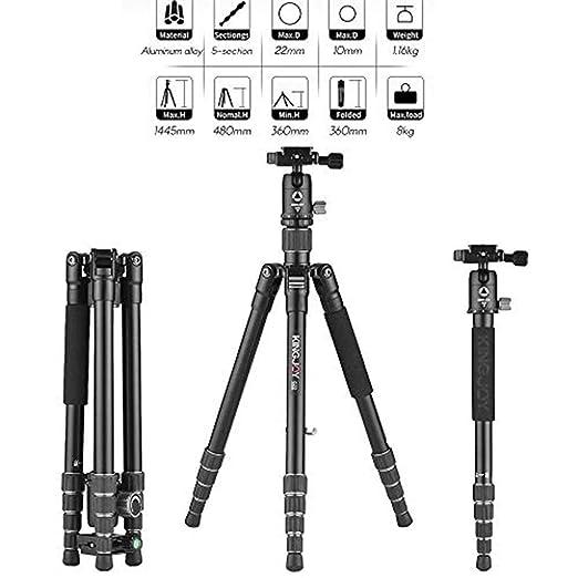 Trípodes completos Trípode de cámara, trípode portátil profesional ...