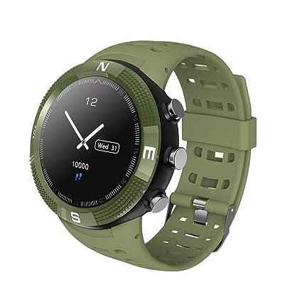 Amazon.com: Idyandyans F18 Bluetooth Waterproof Smart Watch ...