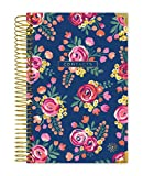 bloom daily planners New and Improved Hard Cover Contacts/Address Book - 6'' x 8.25'' - Vintage Floral