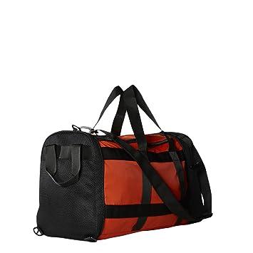 adidas Bolsa de Color Naranja de la Mujer Bolsa de Gimnasio (Convierte a Duffle): Amazon.es: Deportes y aire libre