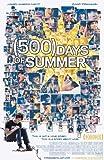 500 Days of Summer Poster 27x40 Zooey Deschanel Joseph Gordon-Levitt Matthew Gray Gubler