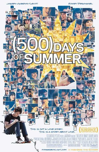 500 Days of Summer Poster 27x40 Zooey Deschanel Joseph Gordo