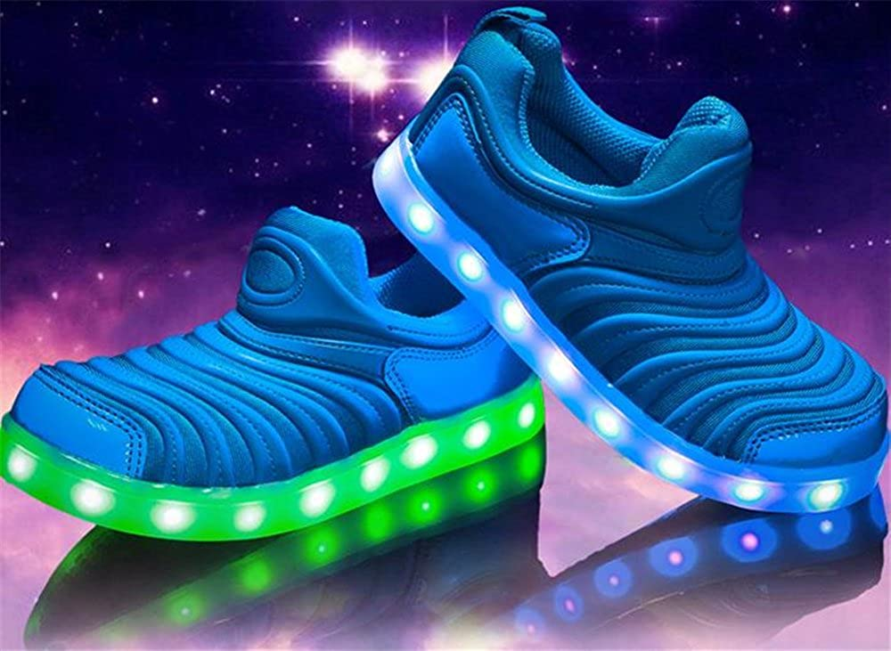 LED Light Caterpillar Shoes Comfortable Casual Shoes boy Girl Sneakers