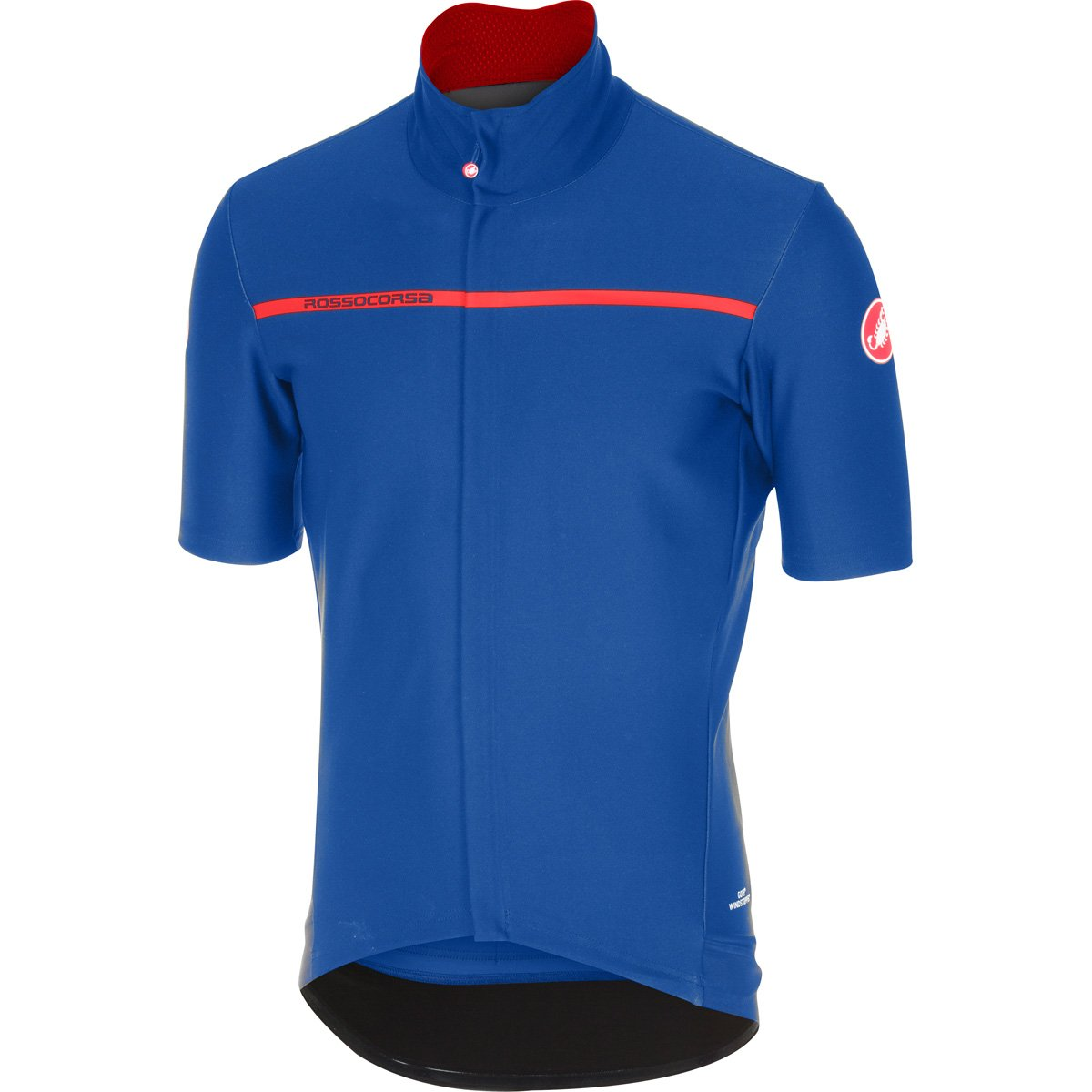 CastelliメンズGabba 3半袖サイクリングjacketb17084 B06WRRZ41C X-Large|サーフブルー サーフブルー X-Large