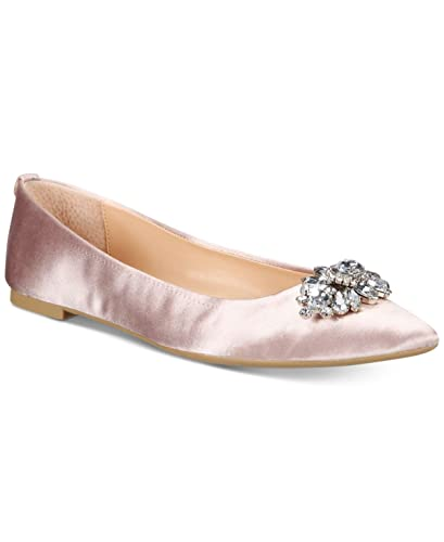 4fe606f2f5db Image Unavailable. Image not available for. Color  Badgley Mischka Jewel  Havana Evening Flats ...