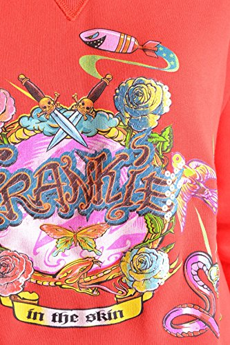 Frankie Morello Mujer MCBI125025O Rojo Algodon Sudadera