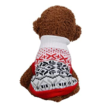 Amazon Com Christmas Unisex Comfortable Pet Dog Cat Winter Warm