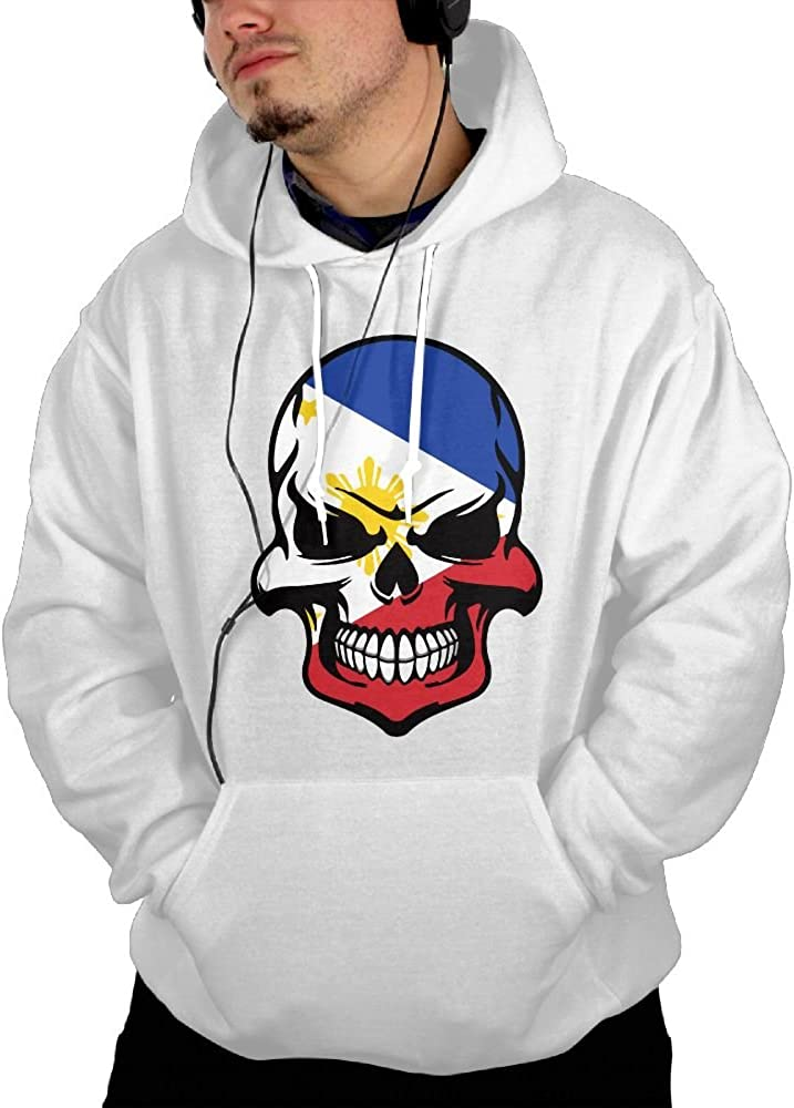 Comfortable Philippine Sun Flag Cotton Jacket for Mens Mens Hooded Sweatshirt