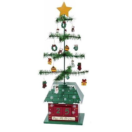 kurt adler christmas tree calendar with ornaments 17 inch - Kurt Adler Christmas