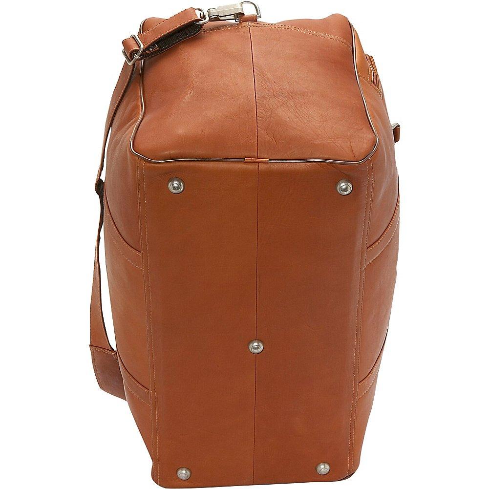Piel Leather Half-Moon Duffel Saddle One Size