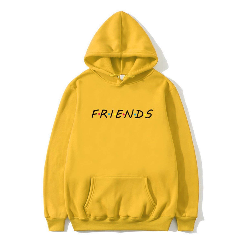 romantico Hoodies Mens Black Fashion Harajuku Sweatshirt Mujer Tumblr Inspired Aesthetic Men/Women Hooded Sweatshir,17 Yellow,S by romantico
