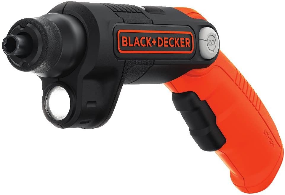 Black+Decker Cordless Screwdriver with LED Light