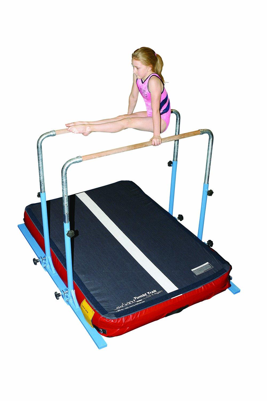 amazon com tumbl trak 5 in 1 gymnastics bar gymnastics