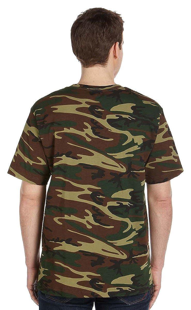 Amazon.com: code v men's short sleeve camouflage t shirt: military ...