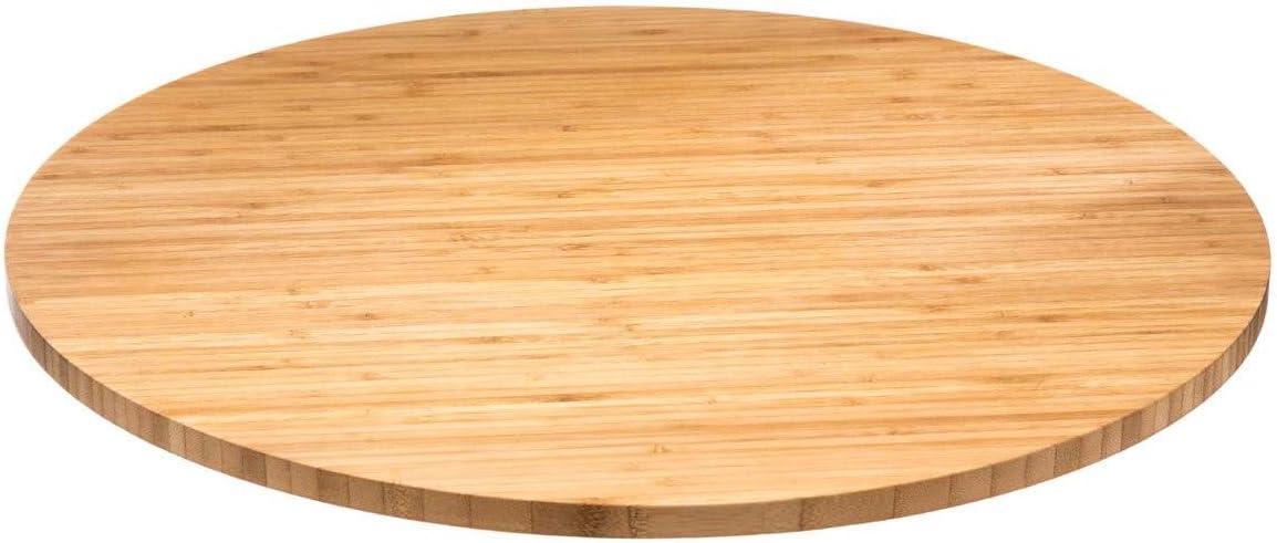 Plateau tournant 50 x 3 cm Bambou