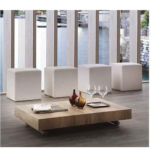 La Seggiola - Mesa Baja elevable Extensible Block diseño con ...