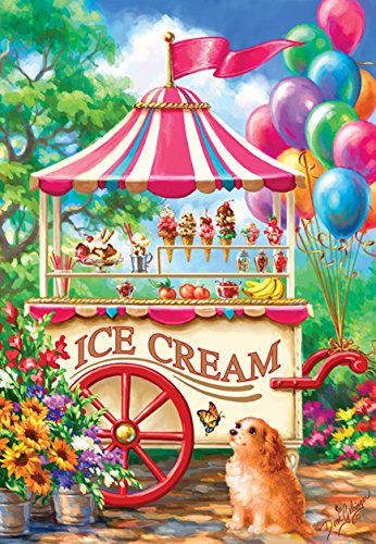 SunsOut Ice Cream Cart 100 pc Jigsaw Puzzle