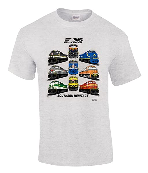 Norfolk Southern Southern Heritage Railroad T-shirt [28]