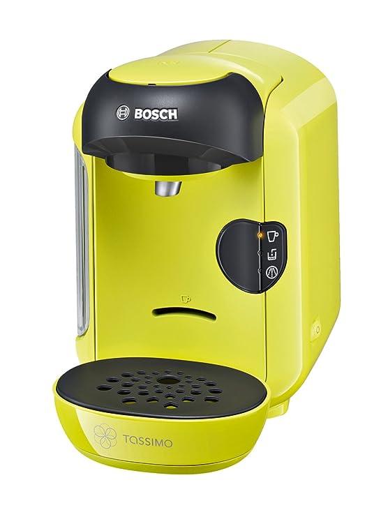 Bosch Tassimo Multibebidas automática TAS1256, 1300 W, 0.7 litros, Plástico, Verde Lima