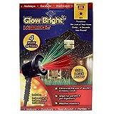 Glow Bright Still Laser Light Show with Ground Stake