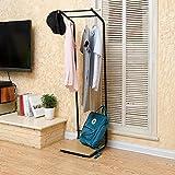KSUNGB Coat racks Metal With storage layer Hanger Living room Hanging hanger Removable