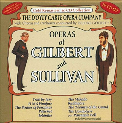 Avid Cd - The Operas Of Gilbert And Sullivan -  D'Oyle Carte Opera Company