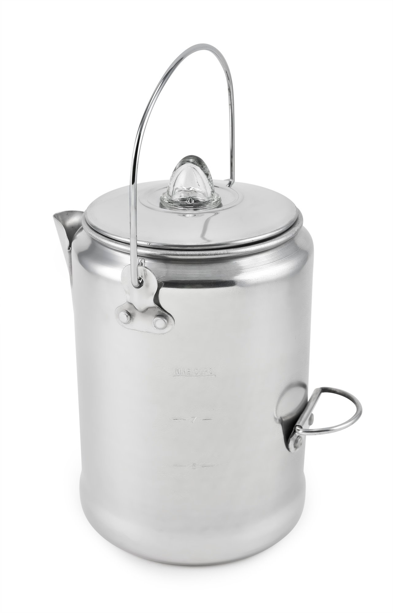 Chinook Canyon 9 Cup Aluminum Coffee Percolator