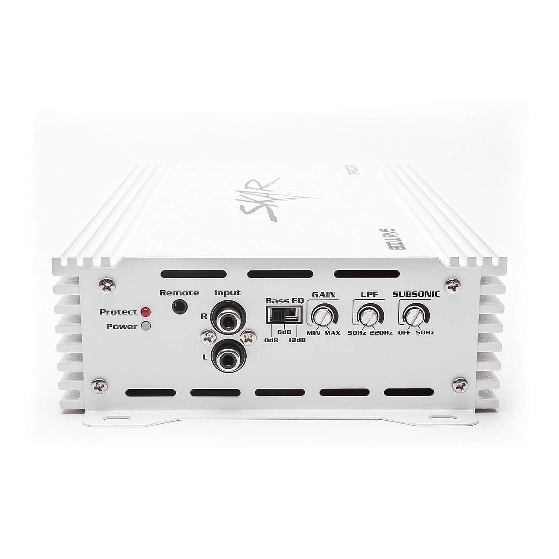 Skar Audio RP-75.4ABM 500 Watt Full-Range Class A//B 4-Channel Marine Amplifier