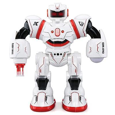 CQ RC Robot Inteligente Detección de Gestos Baile con Luz Espera Larga Juguetes Educativos para Niños,Red: Deportes y aire libre